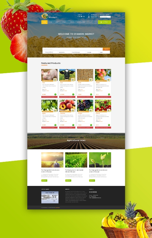 E-Farmers Website