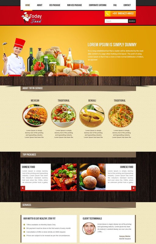 Tiffin website